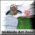 NGA Kids art zone icon